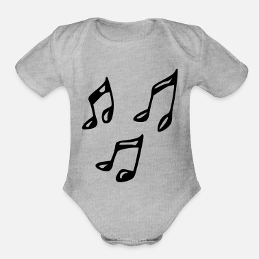 Note Clue note - Organic Short-Sleeved Baby Bodysuit