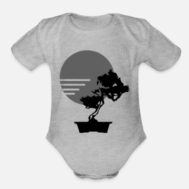 Bonsai Tree Bonsai Tree - Organic Short-Sleeved Baby Bodysuit