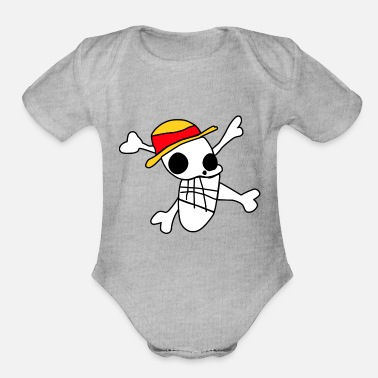 Luffy luffi - Organic Short-Sleeved Baby Bodysuit