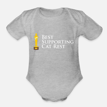 Performer A Purrfect Performance - Organic Short-Sleeved Baby Bodysuit
