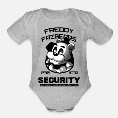 Freddy Fazbears FREDDY FAZBEARS SECURITY - Organic Short-Sleeved Baby Bodysuit