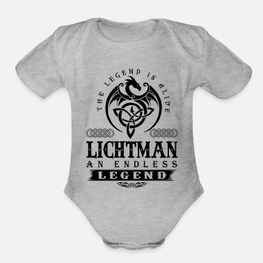 Legend SHUE - An Endless Legend - Organic Short Sleeve Baby Bodysuit