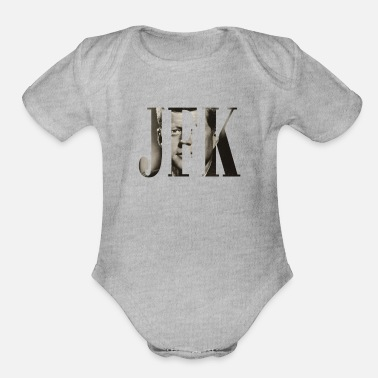 Jfk JFK - Organic Short-Sleeved Baby Bodysuit