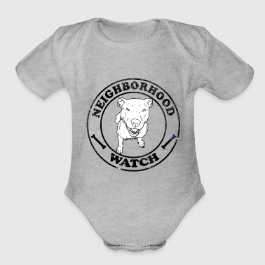 Neighborhood Watch - Organic Short Sleeve Baby Bodysuit