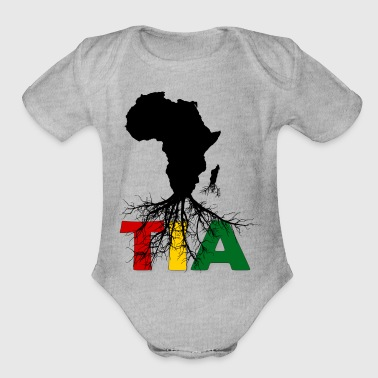 This is Africa - Organic Short Sleeve Baby Bodysuit