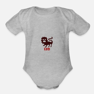 Sign LEO - Organic Short-Sleeved Baby Bodysuit