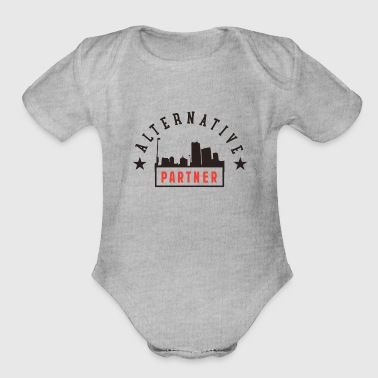 Partner Alternative Partner - Organic Short Sleeve Baby Bodysuit