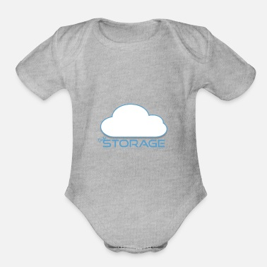 Storage INTERNET STORAGE - Organic Short-Sleeved Baby Bodysuit