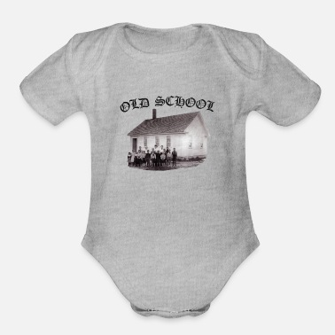 Old School Old School - Organic Short Sleeve Baby Bodysuit