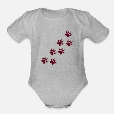 Paw Paws - Organic Short-Sleeved Baby Bodysuit