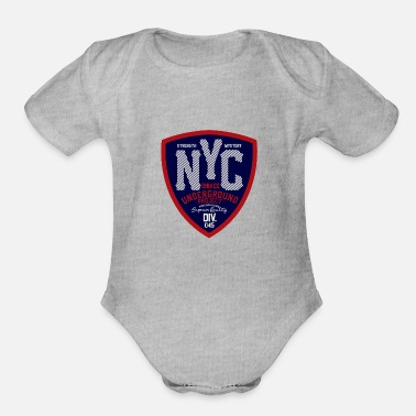 Vintage Sport sports and vintage 27 F - Organic Short-Sleeved Baby Bodysuit