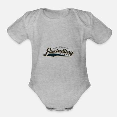 Vintage Sport sports and vintage 35 F - Organic Short-Sleeved Baby Bodysuit