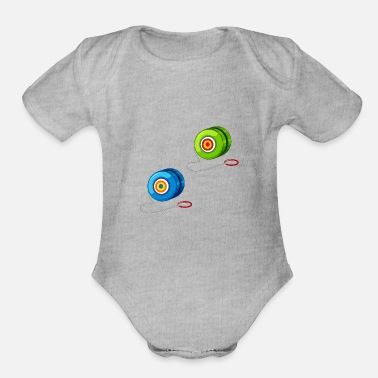 Dice toys 32 F - Organic Short-Sleeved Baby Bodysuit