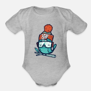 Net Net - Organic Short-Sleeved Baby Bodysuit