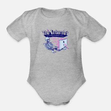 Internet The Internet - Organic Short Sleeve Baby Bodysuit