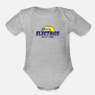 Electricity Electrics - Organic Short-Sleeved Baby Bodysuit