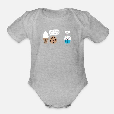 Dessert Desserted - Organic Short-Sleeved Baby Bodysuit