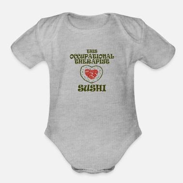 Occupation occupational therapist - Organic Short Sleeve Baby Bodysuit