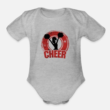 Cheer Cheer - Organic Short-Sleeved Baby Bodysuit
