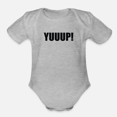 Humour Yuup Humour - Organic Short-Sleeved Baby Bodysuit