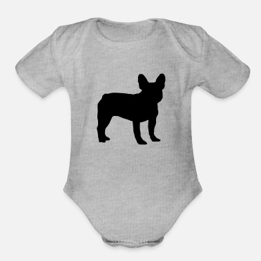 3ae8f624b French Bulldog French Bulldog - Organic Short-Sleeved Baby Bodysuit
