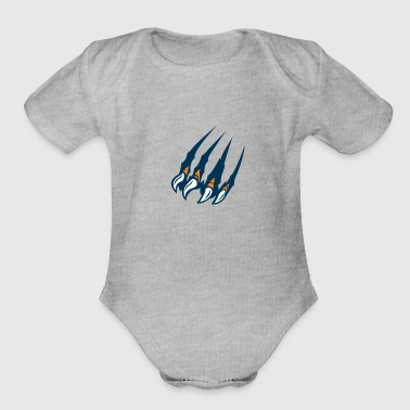 Ultras Ultra claws - Organic Short Sleeve Baby Bodysuit