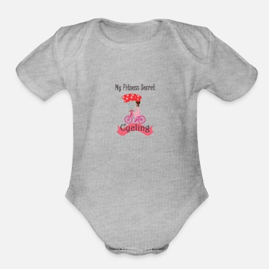 My Fitness Secret Cycling - Organic Short-Sleeved Baby Bodysuit