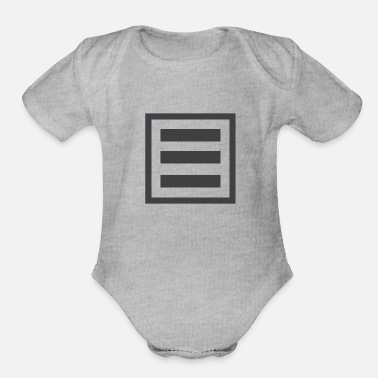 Form form - Organic Short-Sleeved Baby Bodysuit