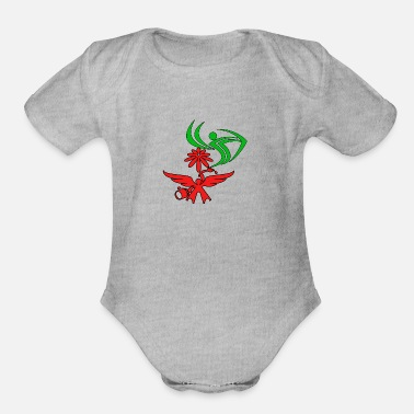 New Design New design - Organic Short-Sleeved Baby Bodysuit