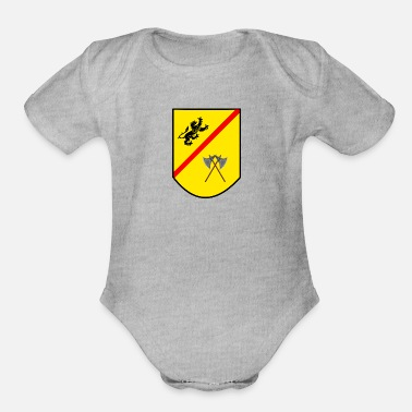 Coat Of Arms Coat of arms - Organic Short-Sleeved Baby Bodysuit