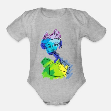 Affection Affect - Organic Short Sleeve Baby Bodysuit