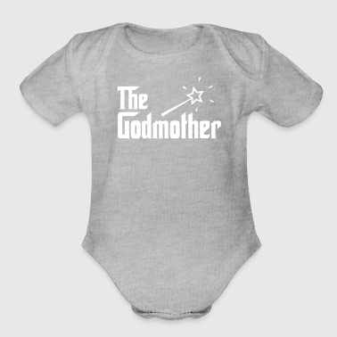 The Godmother - Organic Short Sleeve Baby Bodysuit