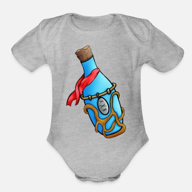 Magic Potion Magic potion - Organic Short Sleeve Baby Bodysuit