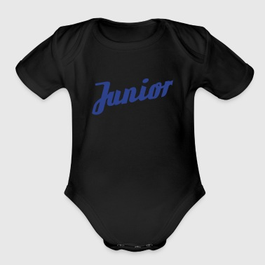 Junior (dh) - Organic Short Sleeve Baby Bodysuit
