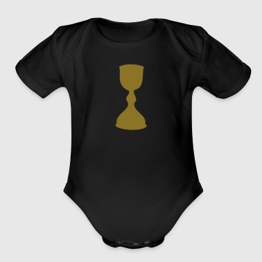 Medieval A MEDIEVAL CHALICE - Organic Short Sleeve Baby Bodysuit
