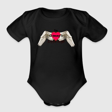 Grammy's Angel - Organic Short Sleeve Baby Bodysuit