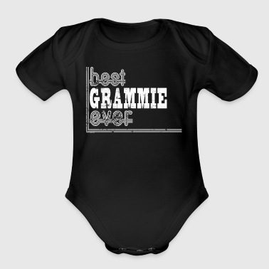 Best Grammie Grandma Grandmother - Organic Short Sleeve Baby Bodysuit