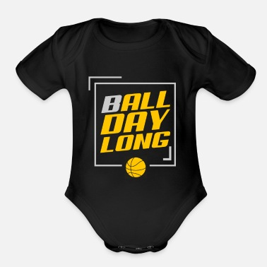 Game Ball Game Ball - Organic Short-Sleeved Baby Bodysuit