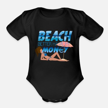 Beach Experience - Organic Short-Sleeved Baby Bodysuit