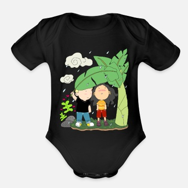Couples couple - Organic Short-Sleeved Baby Bodysuit
