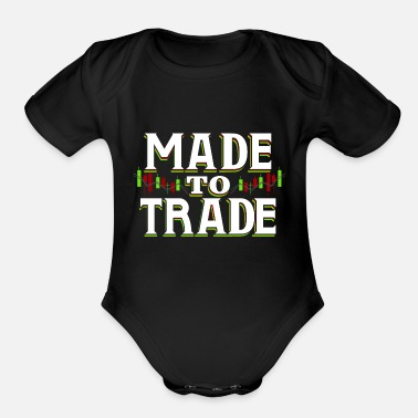 Leverage Made to Trade - Organic Short-Sleeved Baby Bodysuit