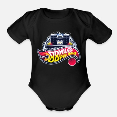 Future Back to the Future - Organic Short-Sleeved Baby Bodysuit