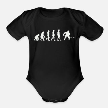 Evolution Hockey Evolution - Organic Short-Sleeved Baby Bodysuit