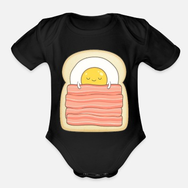 Bed bed and breakfast - Organic Short-Sleeved Baby Bodysuit