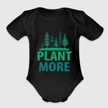 Nature - Organic Short Sleeve Baby Bodysuit