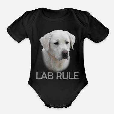 Lab Labs Rule - Organic Short Sleeve Baby Bodysuit