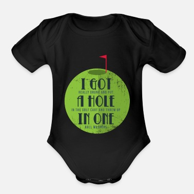 Golf Golf - Organic Short Sleeve Baby Bodysuit