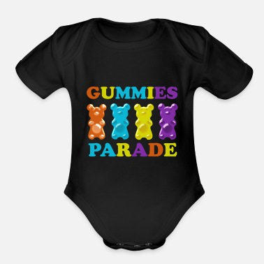 Parade Gummies Parade - Organic Short-Sleeved Baby Bodysuit