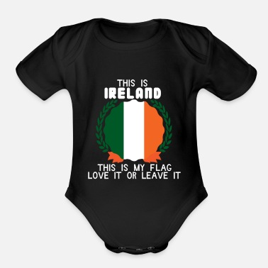 Home Country Ireland Home Country - Organic Short-Sleeved Baby Bodysuit