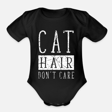 Dont Be Such A Pussy Cat hair Kitten Pussy Funny Sweet - Organic Short-Sleeved Baby Bodysuit